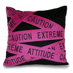 Extreme Attitude (so cute for a teen)
