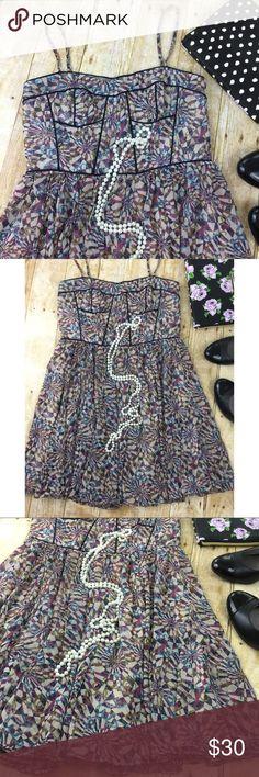 MM Couture Corset/Bustier Mini Dress In excellent condition. MM Couture Dresses Mini
