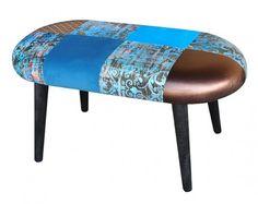 meble - pufy, stołki, ławy-Ławka PATCHWORK