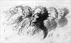 Honoré Daumier, Riot: 1854