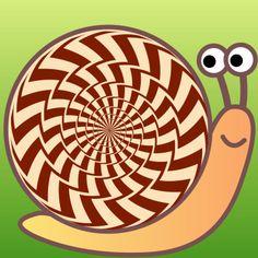 """""""Spiral ?"""" Optical illusion,Hidden picture, http://asobidea.co.jp/en/service/illusion/"""