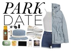 """early morning walk in the woods by the park"" by sloanibanez ❤ liked on Polyvore featuring Topshop, H&M, Madewell, PENHALIGON'S, Anna Sui, NARS Cosmetics, Burt's Bees and Fresh"