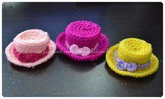 Our Family Blogs About....: Crochet Miniature Hat