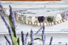 DIY Fabric Flower Garland - A Wonderful Thought Rope Crafts, Jar Crafts, Finger Knitting, Knitting Yarn, Book Page Wreath, American Flag Wood, Fabric Garland, Embroidered Gifts, Diy Pumpkin