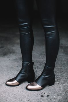 Bethany Olson in ASHER boots #ASKAcollection