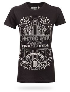 Time Lords Vintage Ladies Tee- It's mine now! I just bought it. <-jealous!