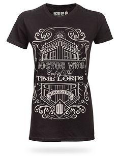 Time Lords Vintage Ladies Tee
