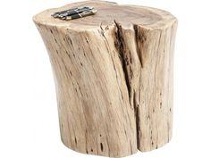 Taboret Asta drewniany marki Kare Design - sfmeble.pl