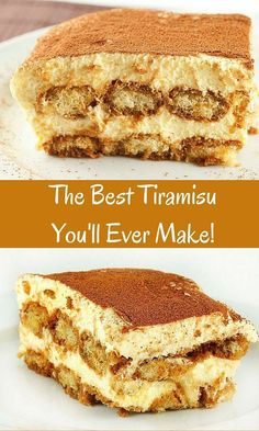 The Best Tiramisu you'll ever make is easier than you think! this classical dessert is amazingly delicious.askchefdennis… The Best Tiramisu you'll ever make is easier than you think! this classical dessert is amazingly delicious. Brownie Desserts, Easy Desserts, Delicious Desserts, Yummy Food, Easy Italian Desserts, Creme Tiramisu, Tiramisu Cake, Italian Tiramisu, Amaretto Tiramisu