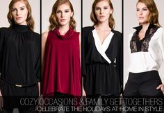 Cozy Holiday Party With Family Style - Family Holiday Party - Holiday Party Fashion