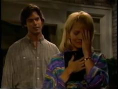 Tuc Watkins (as David), Krista Tesreau (as Tina) | One Life to Live (July 28, 1994) | Tags: The Rich and the Filthy, The Spoonatics