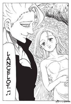 Read Nanatsu no Taizai / The Seven Deadly Sins Manga Chapter 345 in English High Quality only at Anime Girl Cute, Anime Guys, Manga Anime, Seven Deadly Sins Anime, 7 Deadly Sins, Ban E Elaine, Princesa Elizabeth, Evil Knight, Cute Anime Coupes