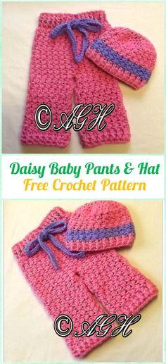 Crochet newborn pants free pattern serina pinterest free crochet daisy baby pants and hat free pattern crochet baby pants free patterns dt1010fo