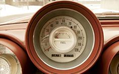 1963 Chrysler Turbine car speedometer