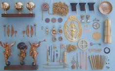 klokonderdelen: kuisproduct, olie, bronzen lagers, ...