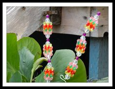 Colorful Garden Flower Decor Stakes - pinned by pin4etsy.com
