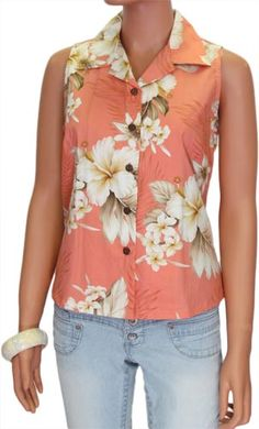 e7dcefc78f35 Check out the deal on Sleeveless Lanai Shirt for Women at Shaka Time Hawaii…  Hawaii