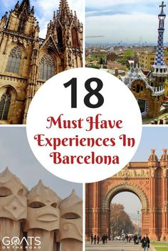 A Guide to Barcelona for First-Timers | Best European Cities | Catalan Culture | Antoni Gaudi Architecture | City Beach Destination | Perfect Weekend City Break | What To Eat In Barcelona | Hang out in the Gothic Quarter & Rooftop Bars With Awesome Views | Barcelona Travel Itinerary