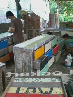 Processing boat wood paint