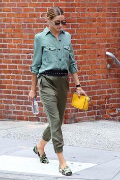Olivia Palermoreferente para las amantes del vestuario, principalmente por su espectacular sentido de la moda y su habilidad para mezclar con gracia y buen gusto prendas que jamás se nos hubiese ocurrido llevar juntas. Su estilo es absolutamente inspirador. De ahí que tenga miles de seguidores que adoran su forma de vestir y que sea la musa...