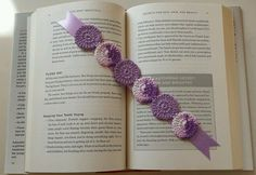 Hand crocheted lace bookmarks by smileyface21 on Etsy, $2.99