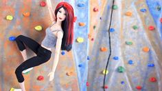 My Froggy Stuff: Doll Hobbies : Doll Rock Climbing Gym