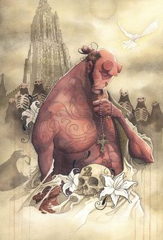 Hellboy by Gris Grimly