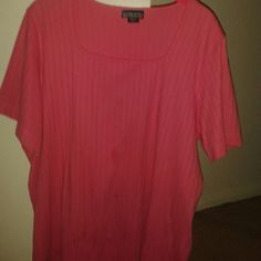 I just added this to my closet on Poshmark: Lands' End Bright Pink Women's 2X, Short Sleeve To. Price: $14 Size: 2X