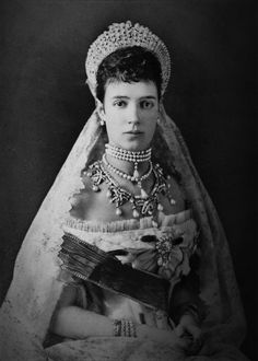 "Stunning Empress Maria Feodorovna. Her family provided royal consorts for the thrones of Russia, Great Britain, Romania and Spain, giving Christian IX of Denmark and his wife the title of ""grandparents of Europe."""