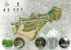 Lourinha Eco-productive Park | Rio Tinto, Portugal | Alexandre Parente #landscapearchitecture #concept #design #eco #urban #agriculture #park
