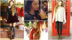 Outfits of the Week: Holiday!!! + DIY Butter Beer (+playlist)