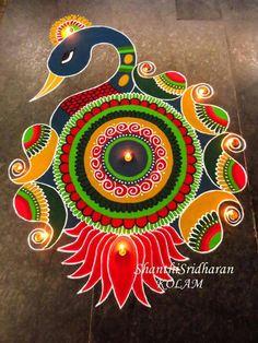 Best Rangoli Designs for Diwali Festival Rangoli Designs Peacock, Best Rangoli Design, Easy Rangoli Designs Diwali, Indian Rangoli Designs, Rangoli Designs Latest, Simple Rangoli Designs Images, Free Hand Rangoli Design, Rangoli Border Designs, Small Rangoli Design