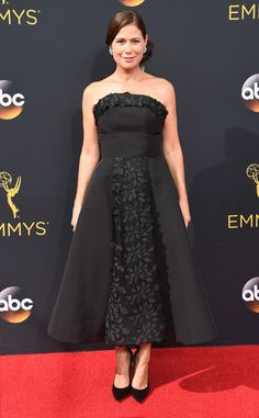 Maura Tierney  2016 Emmy... OMG, gorgeous, love the details. Change the color to fit the wedding theme.