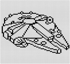 Star Wars Patterns - Star Wars Death Star - Ideas of Star Wars Death Star - Star Wars Patterns createmarvelous Star Wars Crochet, Pixel Crochet, Crochet Stars, Star Wars Quilt, Counted Cross Stitch Patterns, Cross Stitch Embroidery, Anniversaire Star Wars, Drops Baby, Star Wars Crafts
