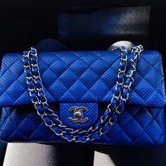 Chanel flap bag.