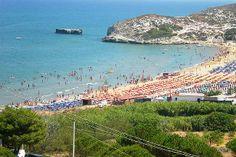 Il Gargano racchiude alcune delle spiagge più belle della Puglia. Con i suoi 140 Km di costa, lo sperone d'Italia, ospita infatti calette e spiagge di rara bellezza, in un susseguirsi di scorci sempre diversi che mostrano i paesaggi marini dell'ambiente costiero mediterraneo. - http://www.beautifulpuglia.com/it/top-10-spiagge-sul-gargano/