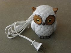 Vintage Owl Accent Light Japan by ArtsyFartsyFarm on Etsy, $9.50