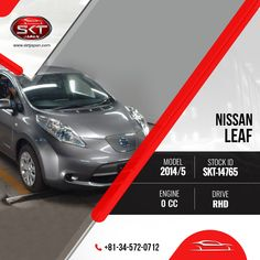 #Car #Stock For #Sale!  View #NissanLeaf 2014 Specification: https://www.sktjapan.com/details/?stid=SKT-14765  #SKTJapan #UsedCars #Japaneses #Vehicle #Cars #AmazingCar #SportsCar #BestValueCar #CarForSale #Transportation #RightHandDrive #QualityCars #Offer #Contact