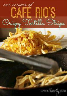 Cafe Rios Crispy Tortilla Strips