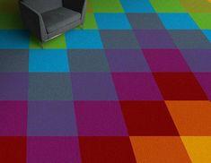"""Yellow /""""Saffron/"""" Burmatex Cut Pile Carpet Tile 10 for £25 inc DELIVERY"""