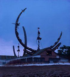 サイバーパンクとのどかな田舎が交じり合うSimon Stalenhagの風景画 | BUZZAP!(バザップ!)