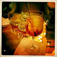 Spritz at the Principe Bar @Peter_Som