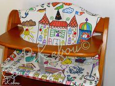 Coussin de chaise haute Hauck alpha - à colorier!