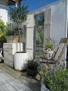 outdoor style Yard Furniture, Outdoor Living, Outdoor Decor, Outdoor Ideas, Lavander, Breath Of Fresh Air, Decks And Porches, Backyard Patio, My Dream Home
