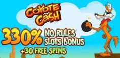 330% No Rules Casino Bonus   33 Free Spins @ 11 RTG Casinos May 2016