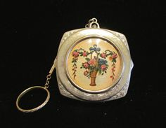Vintage Compact Purse 1900s Victorian by PowerOfOneDesigns, $149.99