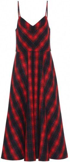 Miu Miu Tartan wool dress  MiuMiu c2eac27090667