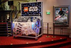 Star Wars barrel organ constructed from Lego.  :D
