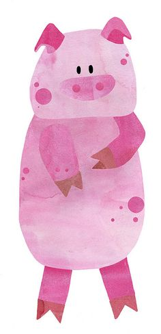 pig by elvia montemayor ♥ This Little Piggy, Little Pigs, Barnyard Animals, Cute Animals, Animal Pictures, Cute Pictures, Pet Dogs, Dog Cat, Pig Pig