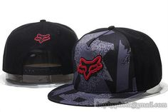 FOX Snapback Hats Black Grey 3807|only US$20.00 - follow me to pick up couopons.